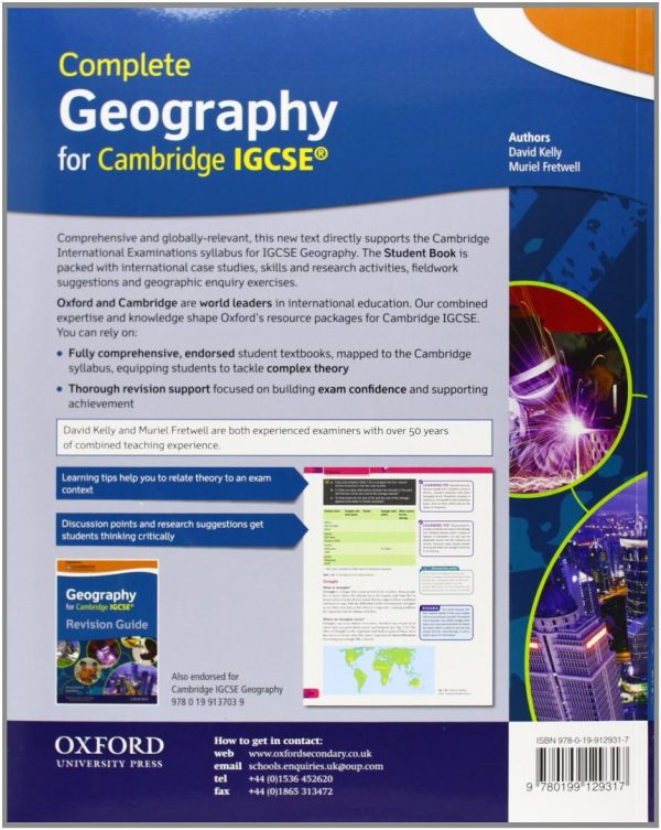 Complete Geography for Cambridge IGCSE (OP) OUP /David Kelly,Muriel Fretwell/ Oxford