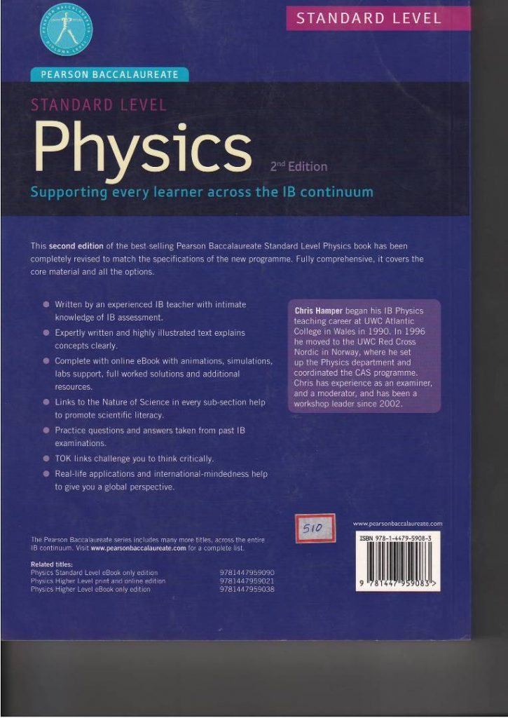 Physics Environmental Systems and Societies Second Edition