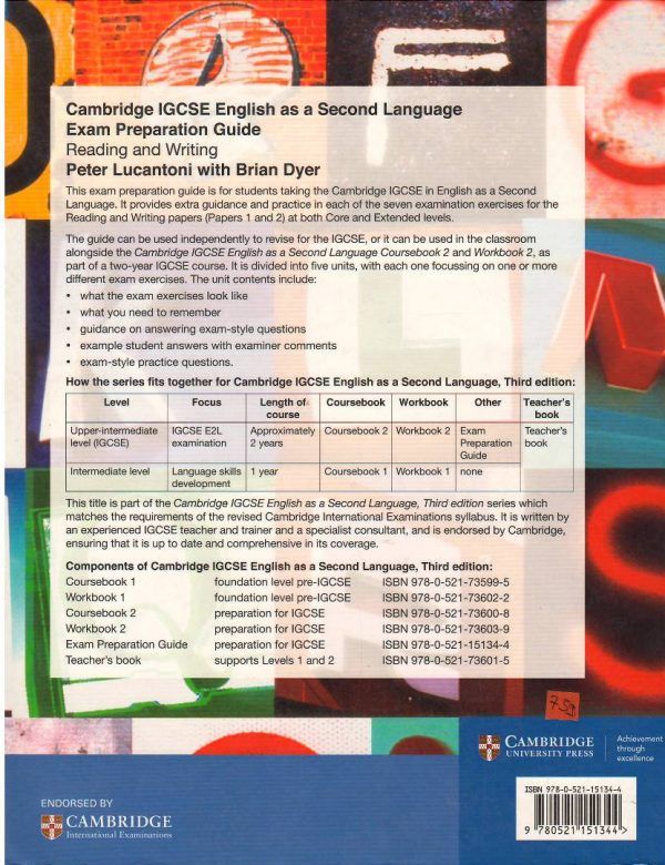 Cambridge IGCSE English As A Second Language Exam Preparation Guide Reading and Writing