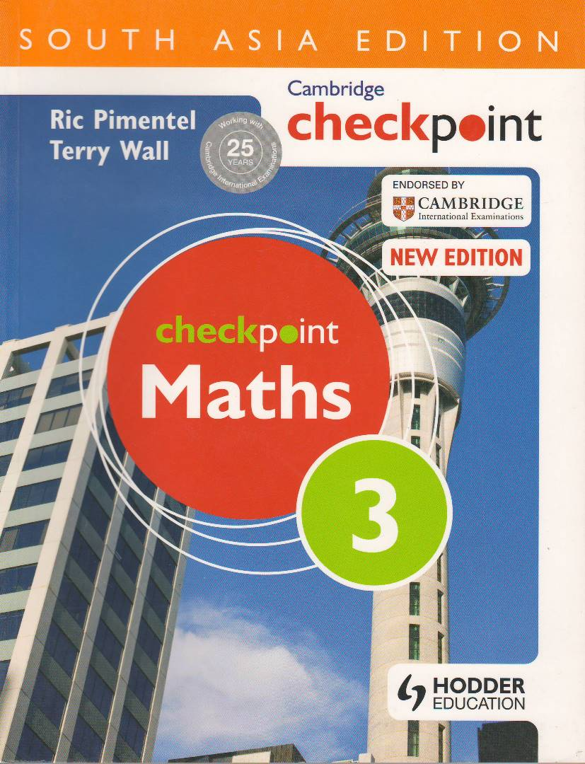Cambridge Checkpoint Maths 3 New Edition (South Asia Edition)