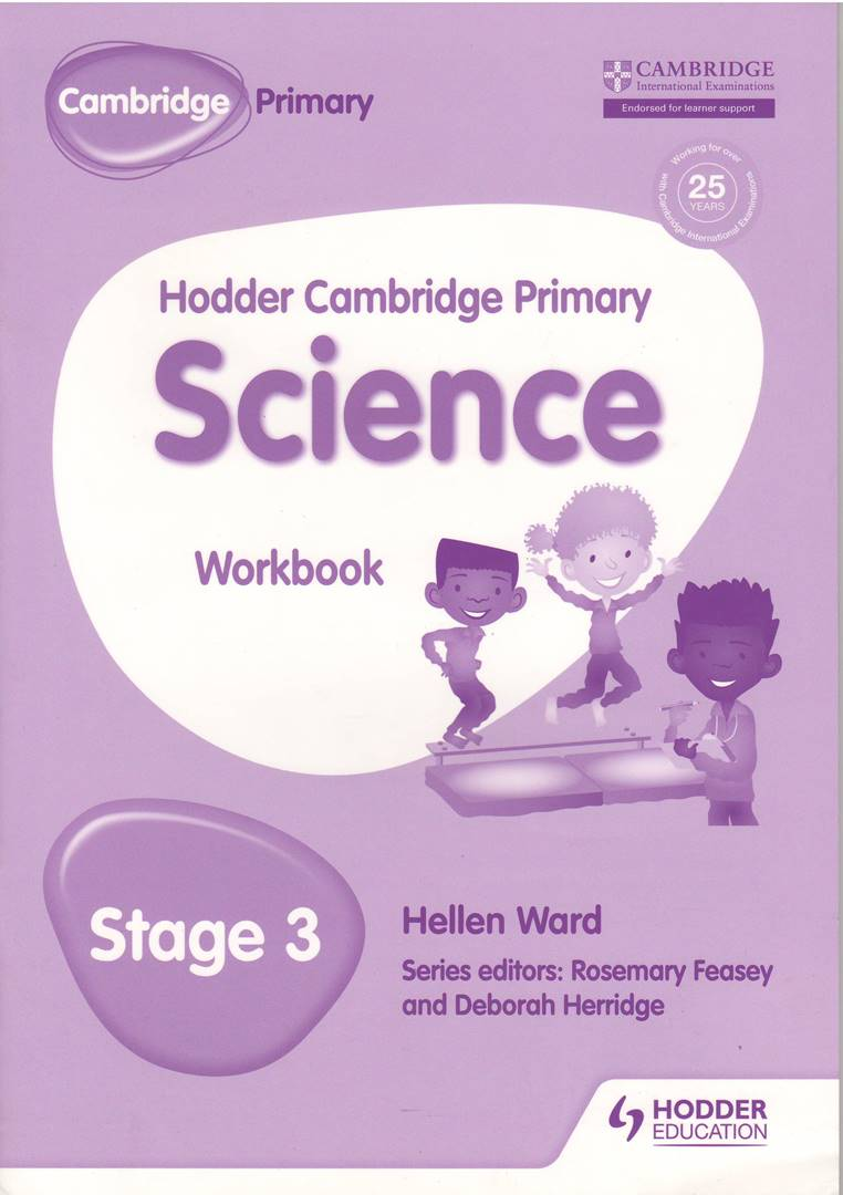 Hodder Cambridge Primary Science Stage 3 Workbook