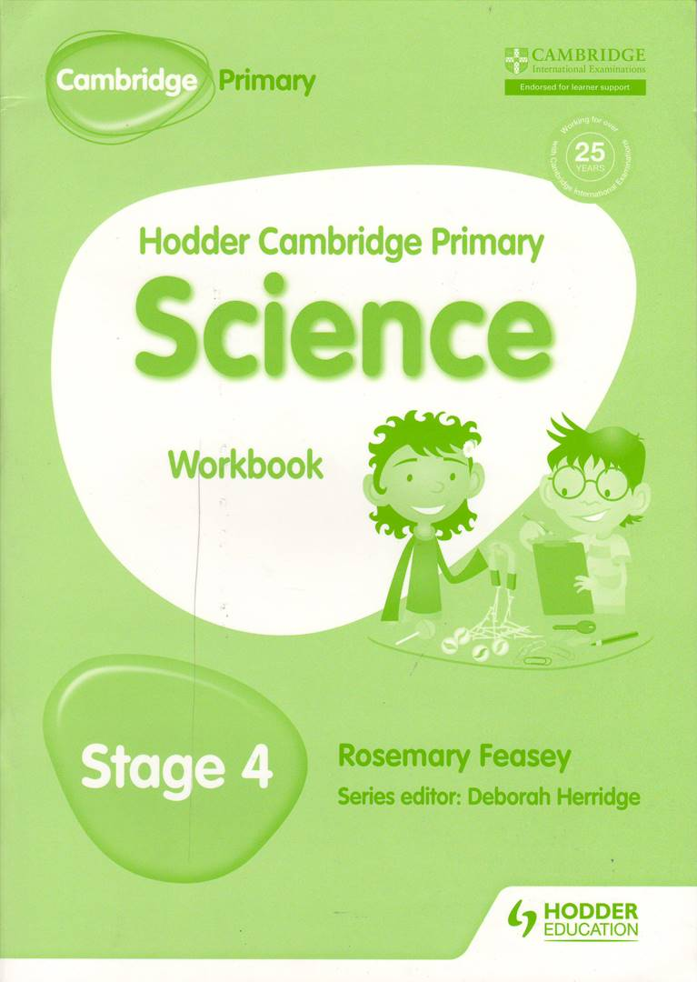 Hodder Cambridge Primary Science Stage 4 Workbook