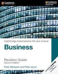 Cambridge International AS and A Level Business Revision Guide Second Edition