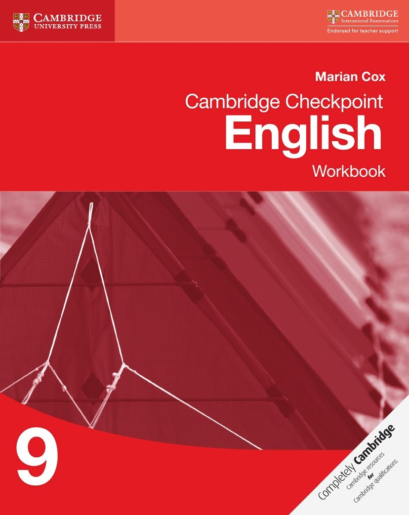 Cambridge Checkpoint English Workbook 9 (Cambridge International Examinations)