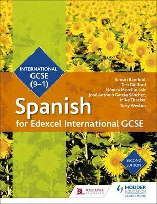 Edexcel International GCSE Spanish Student Book Second Edition