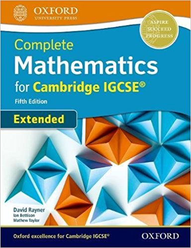 Complete Mathematics for Cambridge IGCSE 5th Extended