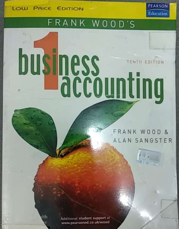 Frank Wood Business Accounting Vol 1