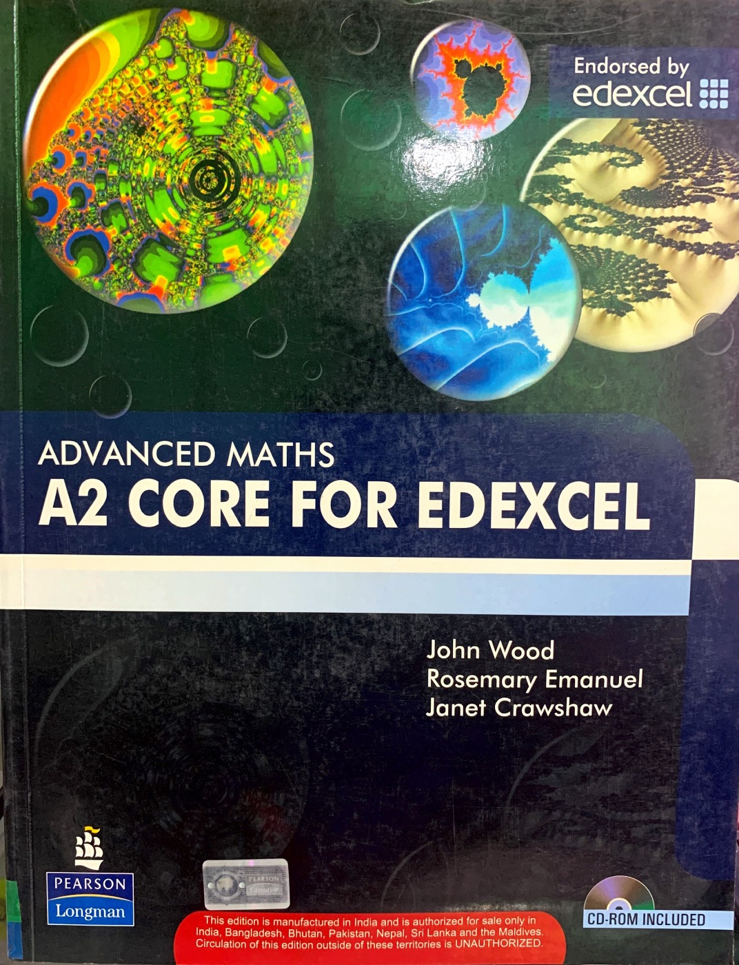 Advanced Maths A2 Core for Edexcel Coursebook