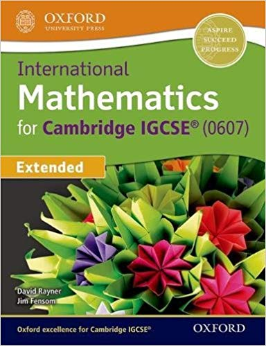 Oxford University Press Mathematics for Cambridge IGCSE