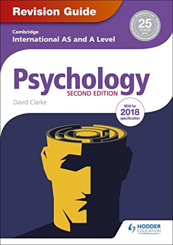 Cambridge International AS/A Level Psychology Revision Guide Second edition