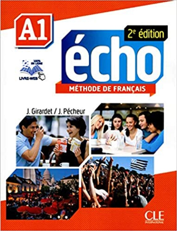 Echo A1 Second Edition Methode De Francais Audio CD French Paperback