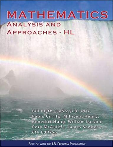 Mathematics Analysis & Approaches HL - IBID Press