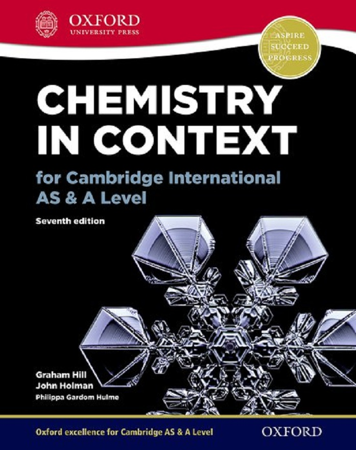 Chemistry in Context for Cambridge International AS & A Level 7th Ed.