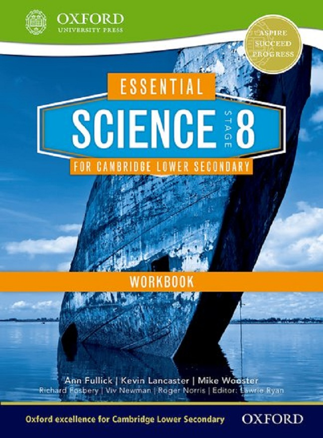 Essential Science for Cambridge Sec 1- Stage 8 WB