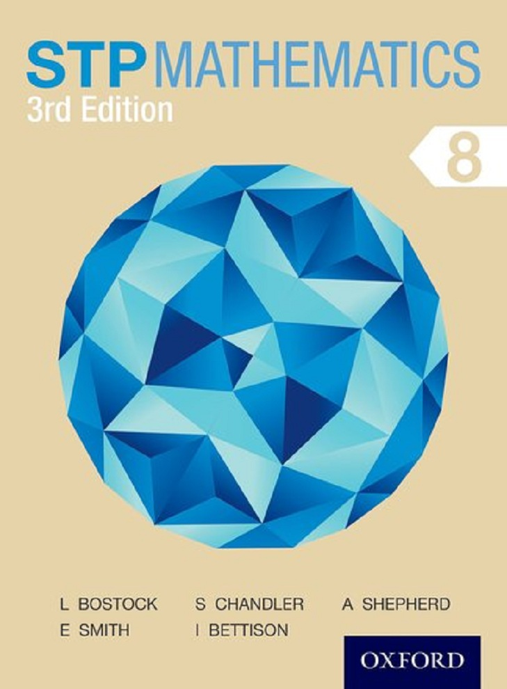 STP Mathematics 8 MYP Grade 7 Third Edition Course Book