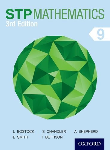STP Mathematics 9 MYP Grade 8 Third Edition Course Book