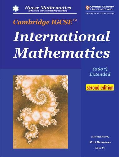 Cambridge IGCSE International Mathematics