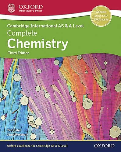 Cambridge International AS 7 A Level Complete Chemistry 3 ed.