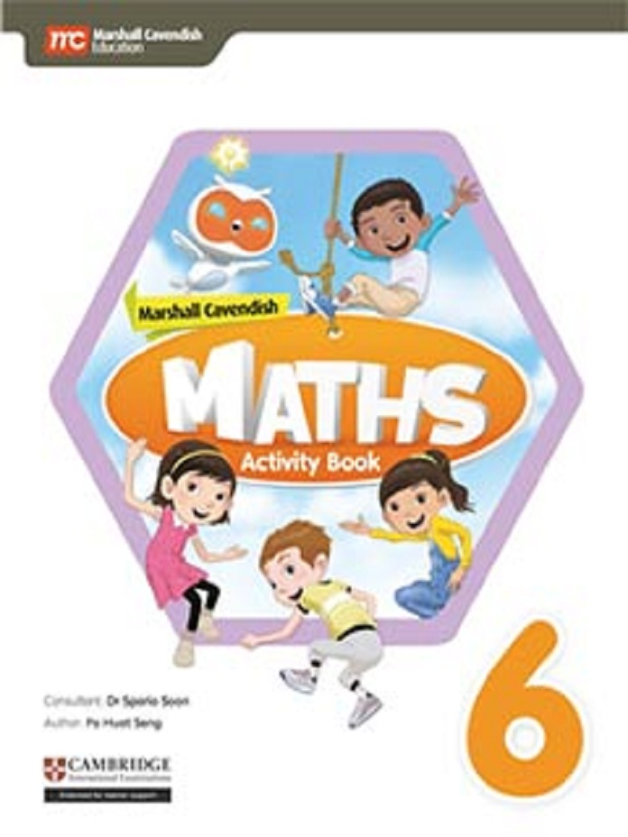 MARSHALL CAVENDISH MATHS ACTIVITY BOOK 6