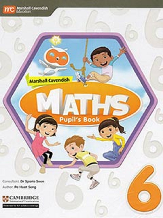 Marshall Cavendish Maths Pupil's Book 6