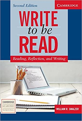 Write to Be Read: Reading, Reflection and Writing