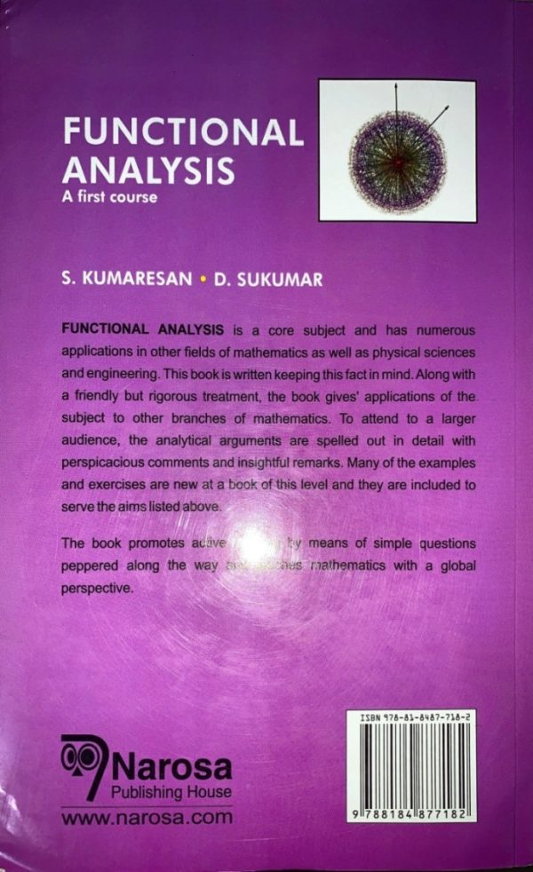 Functional Analysis A First Course
