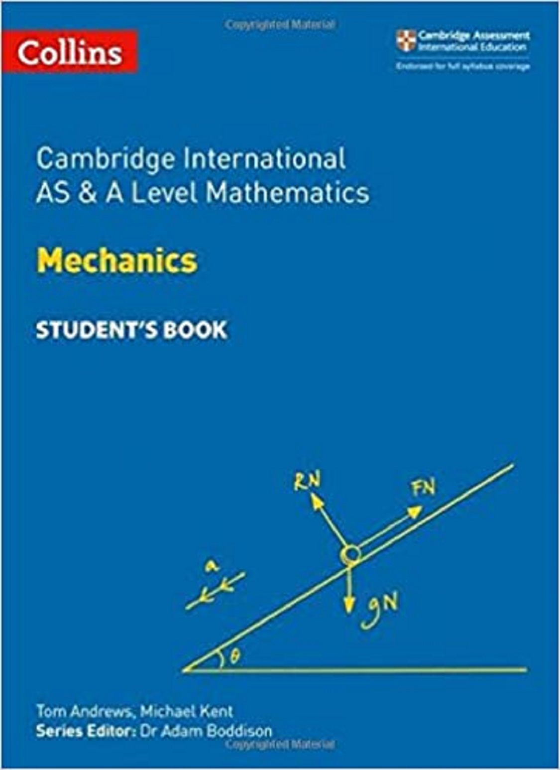 Collins Cambridge International AS & A Level Mathematics Mechanics Student's Book
