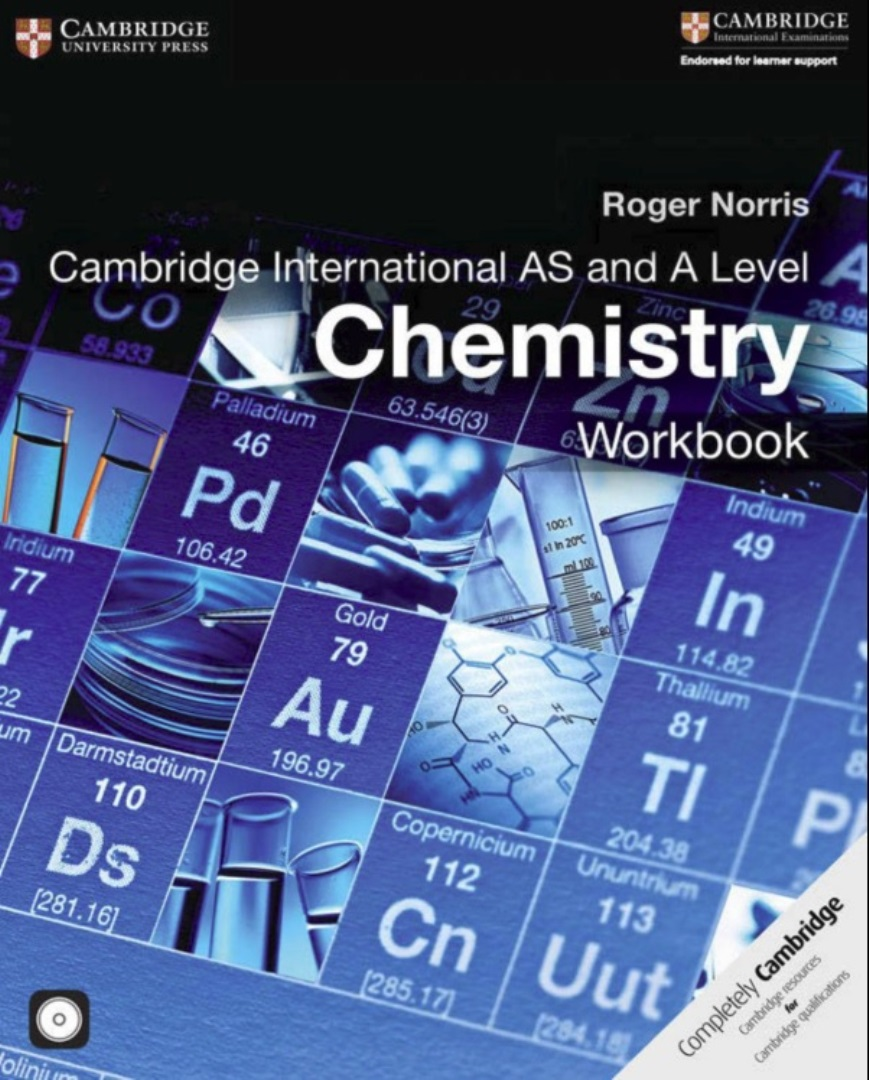 Cambridge International AS and A Level Chemistry Workbook with CD-ROM