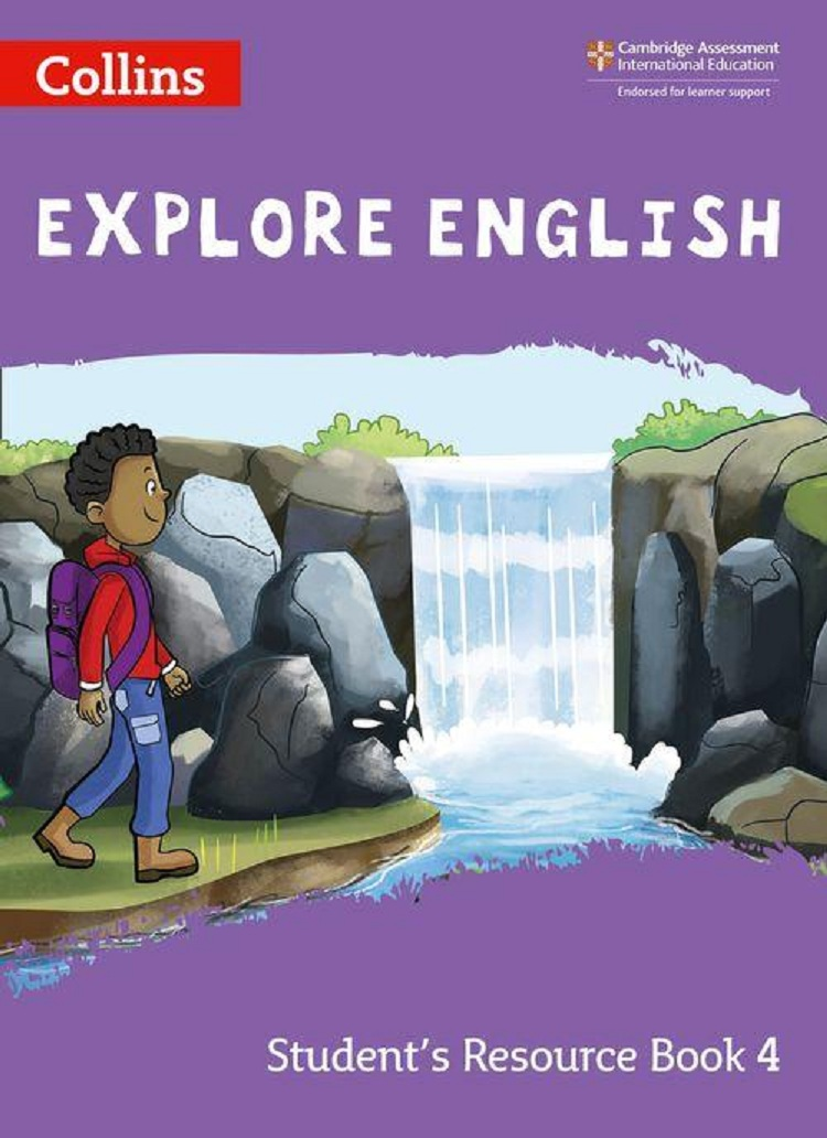 Collins explore English Stage 4 Student's Resource Book Grade 3 for International Primary English