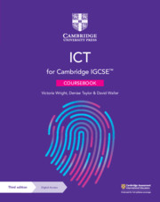 ICT IGCSE Coursebook for Cambridge International Examination with Digital Access 2 Years