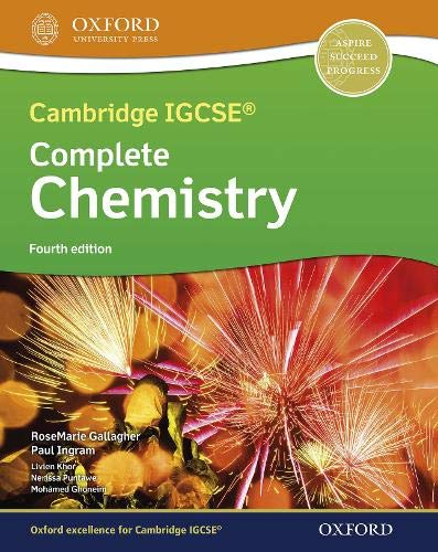 Complete Chemistry IGCSE & O Level Course Book Fourth Edition