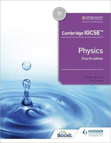 Hodder Physics Course Book IGCSE Fourth Edition