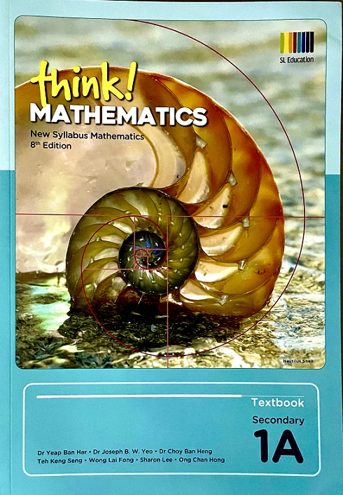 Shinglee Think Mathematics 1A Course Book New Syllabus 8th Edition