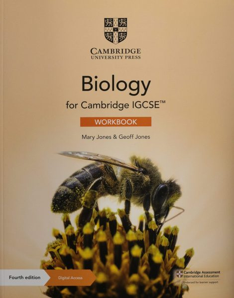 Cambridge Biology IGCSE Work book with Digital Access (2 Years) 4th Edition