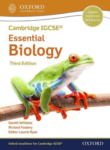 Oxford Essential Biology student Book Third Edition