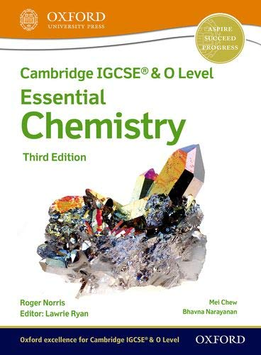Oxford Essential Chemistry Student Book Third Edition